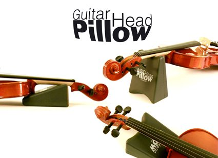 Guitar head pillow