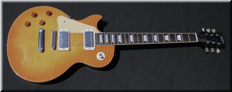 Faber les paul lefthand